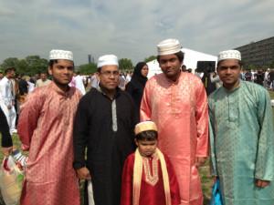 Southwark Eid Festival 2013 - family - thumb