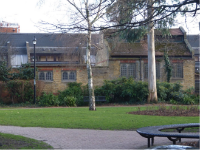 Old Mortuary across Park - thumb