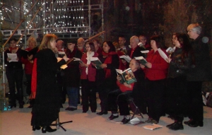 RBCS sings in Thames Tunnel Shaft - May 13