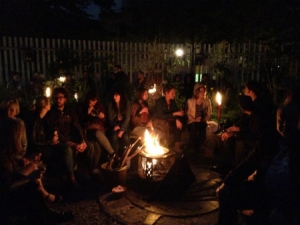 The Fire Pit at Midnight Apothecary