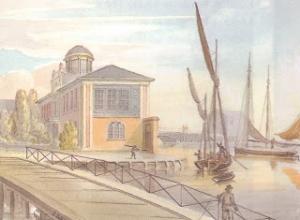 Yates 1826 Bridge and Dock House SC
