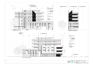 Elevations of New Scout House - thumb