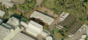 Aerial view of Quebec Way site - thumb