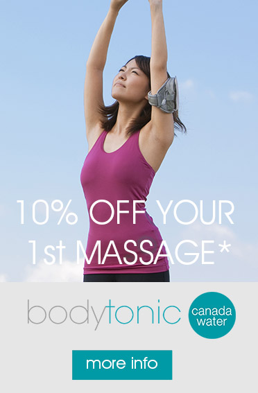 Sports, Deep Tissue & Pregnancy Massage - Canada Water, Rotherhithe, Surrey Quays & Bermondsey SE16