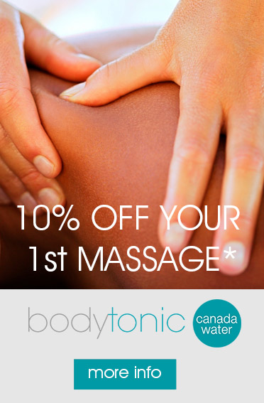 bodytonic clinic canada water osteopathy sports massage
