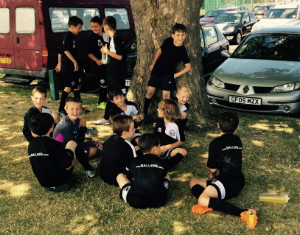 Ballers - Sittingbourne - team group
