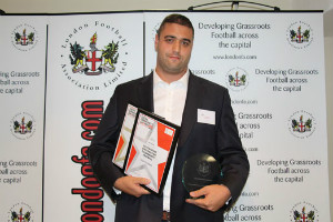 Coach of the year & Outstanding Contribution to Community Football 2014