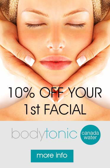 Facials at bodytonic clinic Canada Water SE16 - Bermondsey, Surrey Quays & Rotherhithe