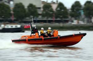 Behind the Scenes RNLI Boat - Hurley Burly 3 - thumb