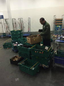 Islam preparing food for collection - thumb