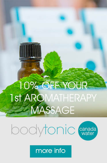 Aromatherapy at bodytonic clinic Canada Water - Bermondsey, Rotherhithe & Surrey Quays SE16