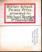Albion School Peace Prize 1990 - thumb