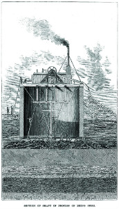 Brunel's Tunnel Shaft in construction - thumb