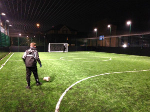 Floodlit pitch - thumb