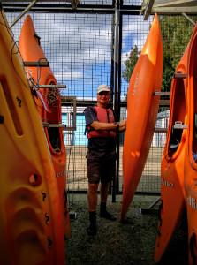 Kayaks in store - thumb