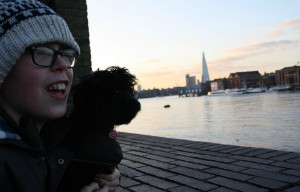 Toby w the Shard - thumb