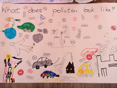 What does pollution look like? by Clare Griffiths CC Flickr