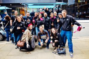 Our first team outing the London bridge pedibus tour!!