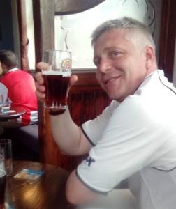 Southwark Park Captain Martin Kovats celebrates the club's 3rd win in a row! - thumb