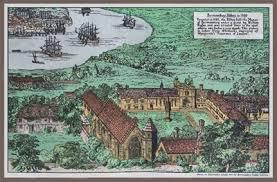 Bermondsey Abbey buildings