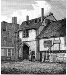 Gate of St Saviour's Abbey Bermondsey - thumb
