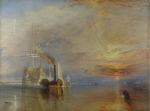 J M W Turner's 'The Fighting Temeraire'