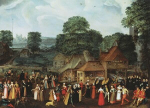 Marcus Gheeraerts the Elder - Festival at Bermondsey c1569 - thumb