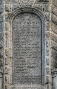 List of The Mayflower passengers at the US National Monument to the Forefathers