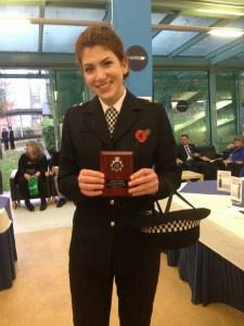 Nelena with award - thumb