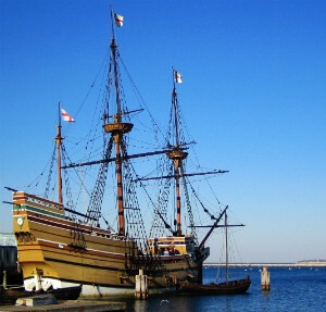 The Mayflower II - a detailed reconstruction