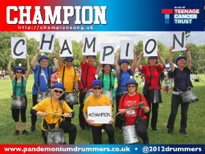 Champion letters - London Fields - thumb