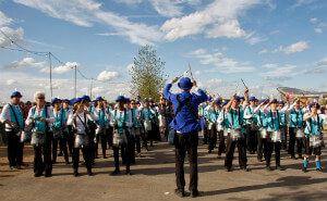 London 2012 Olympics - marching - thumb