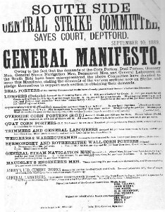 Manifesto from South Side Central Strike Committee