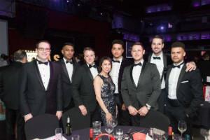 Team at Awards ceremony - thumb