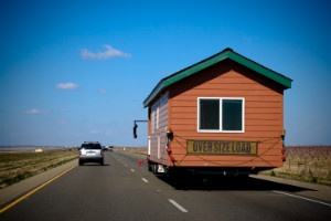 A Tiny House on the move